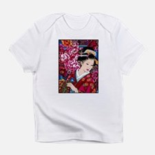 Japanese Geisha Woman Lady Art Infant T-Shirt