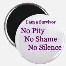 """""""No Pity"""" 2.25"""" Magnet (100 pack)"""