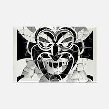 Funny Black devil Rectangle Magnet