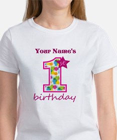 1st Birthday Splat - Personalized Tee