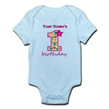 1st Birthday Splat - Personalized Onesie