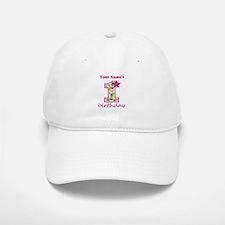 1st Birthday Splat - Personalized Baseball Baseball Cap