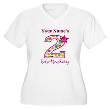 2nd Birthday Spla T-Shirt
