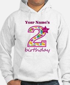 2nd Birthday Splat - Personalize Hoodie