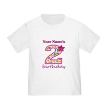 2nd Birthday Splat - Personalized T