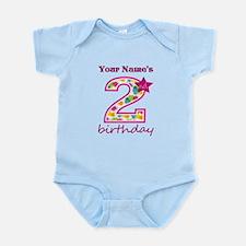 2nd Birthday Splat - Personalized Infant Bodysuit