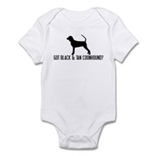 Got Black and Tan Coonhound Infant Bodysuit
