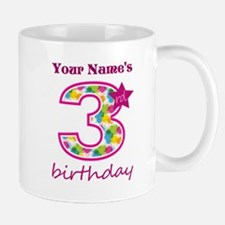 3rd Birthday Splat - Personalized Mug