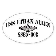 USS ETHAN ALLEN Decal