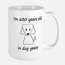 90 dog years 6 Mugs