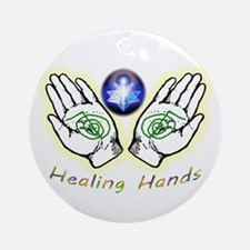 Healing Hands Ornament (round)