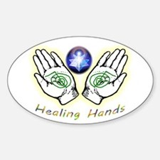 Healing Hands Decal