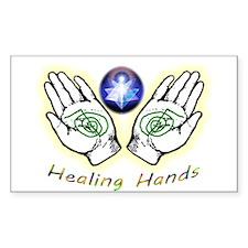 Healing Hands Decal