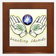 Healing hands Framed Tile