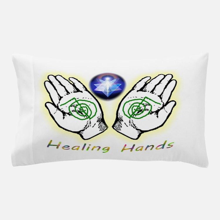 Healing hands Pillow Case