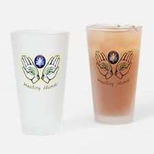 Healing hands Drinking Glass