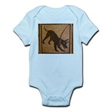 Pompeii Dog Mosaic Infant Bodysuit
