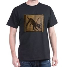 Pompeii Dog Mosaic T-Shirt