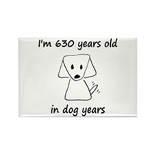 90 dog years 6 - 2 Magnets