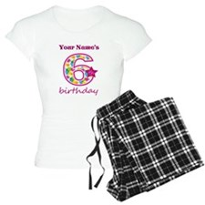 6th Birthday Splat - Person Pajamas