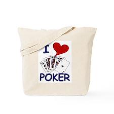 I Heart (Love) Poker Tote Bag