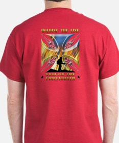Wildland Firefighter (Holding the Lin T-Shirt