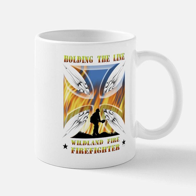 Wildland Firefighter (Holding the Line) Mug