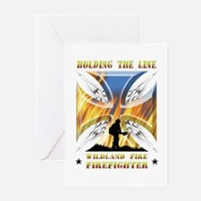 Wildland Firefighter (Ho Greeting Cards (Pk of 20)