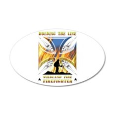 Wildland Firefighter (Holdin Wall Decal