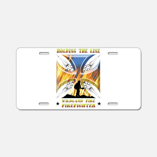 Wildland Firefighter (Holdi Aluminum License Plate
