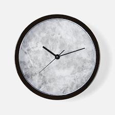 Beautiful Grey Marble Wall Clock