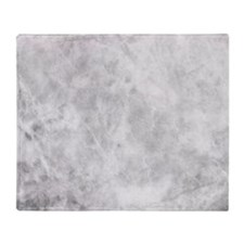 Beautiful Grey Marble Throw Blanket