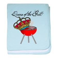 Queen of the Grill baby blanket