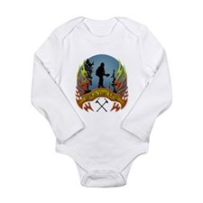 Wildland Firefighter ( Long Sleeve Infant Bodysuit