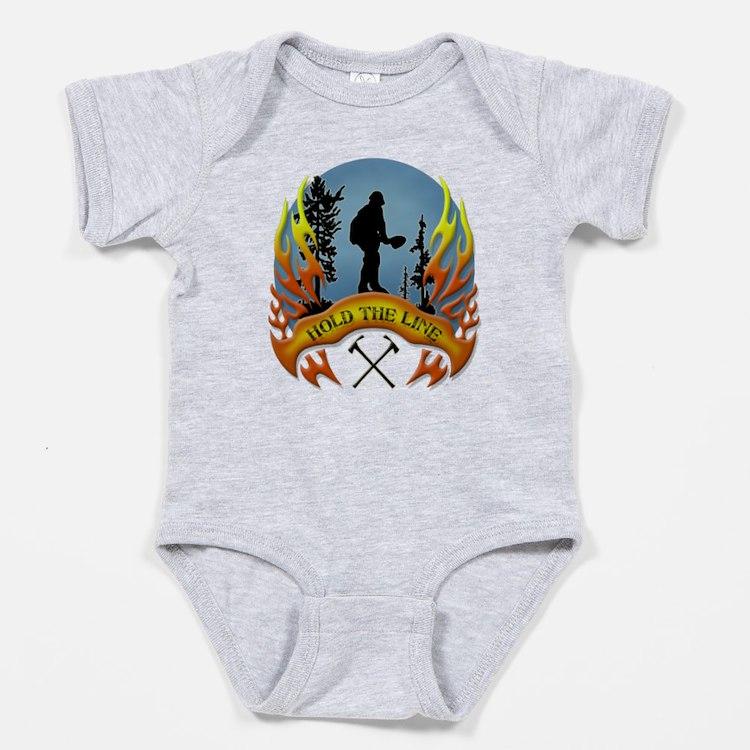 Wildland Firefighter (Hold the Line) Baby Bodysuit