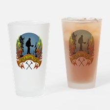Wildland Firefighter (Hold the Line Drinking Glass