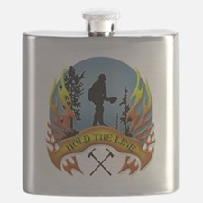 Wildland Firefighter (Hold the Line) Flask
