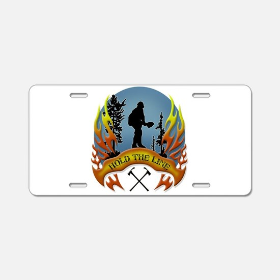 Wildland Firefighter (Hold Aluminum License Plate