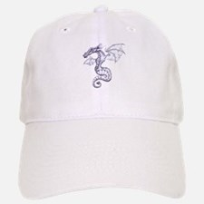 Dragon Illustration Baseball Baseball Cap