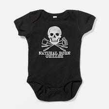Natural Born Griller Baby Bodysuit