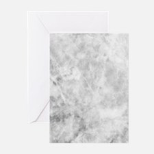 Beautiful Grey Marble Greeting Cards