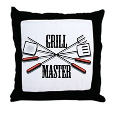 Grill Master Throw Pillow