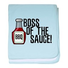 Boss of the Sauce baby blanket