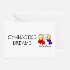 TOP Gymnastics Dreams Greeting Cards (Pk of 10)