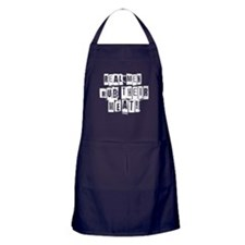 Real Men Rub Their Meat Apron (dark)