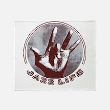 Unique Jazz hands Throw Blanket
