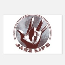 Unique Jazz hands Postcards (Package of 8)