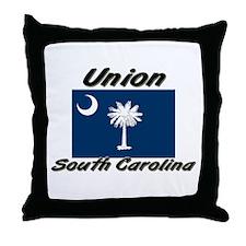 Union South Carolina Throw Pillow