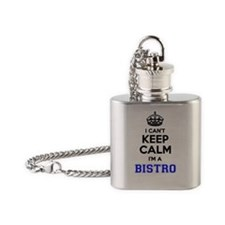 Unique Bistro Flask Necklace