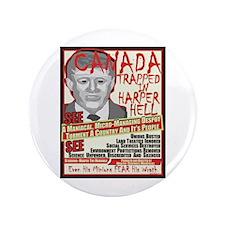"Harper Hell 3.5"" Button"